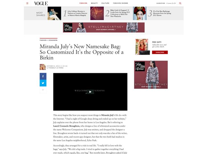 Vogue Notations
