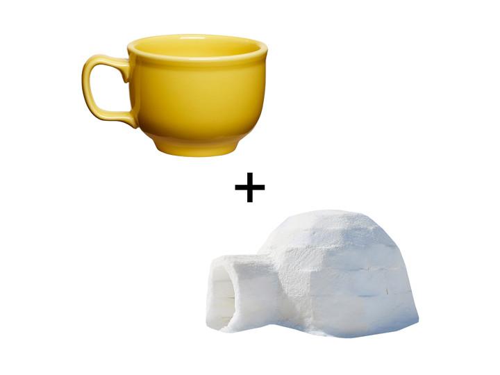 Igloo + Teacup
